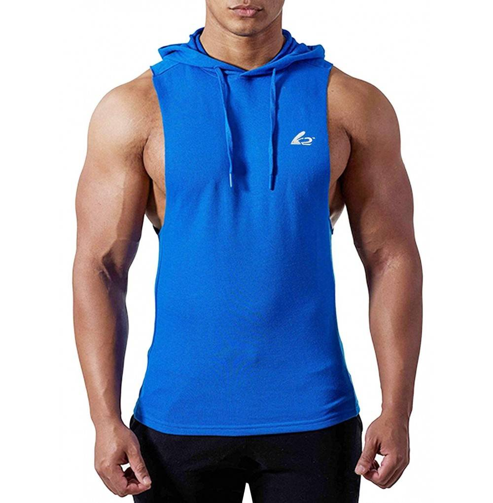 PAIZH Sleeveles Workout Bodybuilding Powerlifting