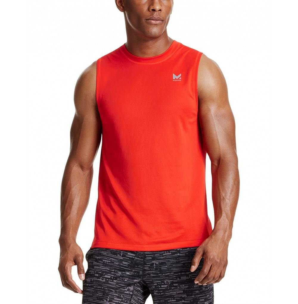 Mission VaporActive Sleeveless T Shirt Medium