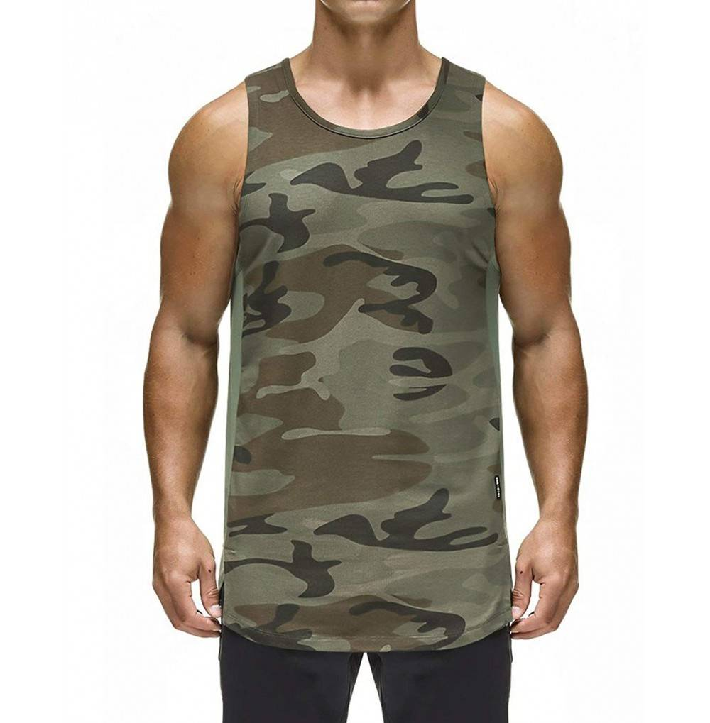 Ouber Bodybuilding Workout Sleeveless Shirts