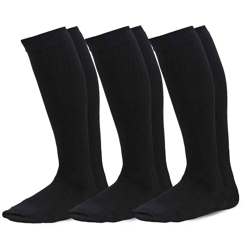 TeeHee Microfiber Compression Socks 3 Pack
