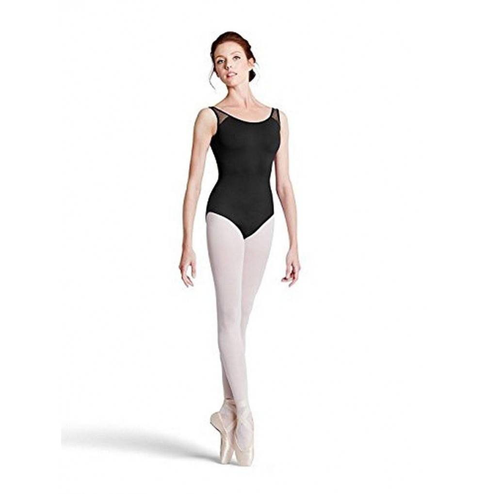 Bloch womens Floral leotard velvet