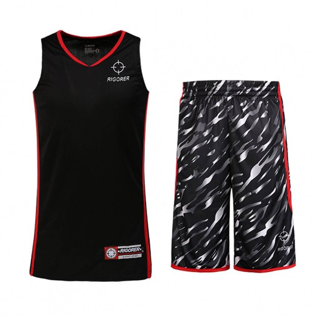 RIGORER Camouflage Reversible Basketball Jerseys
