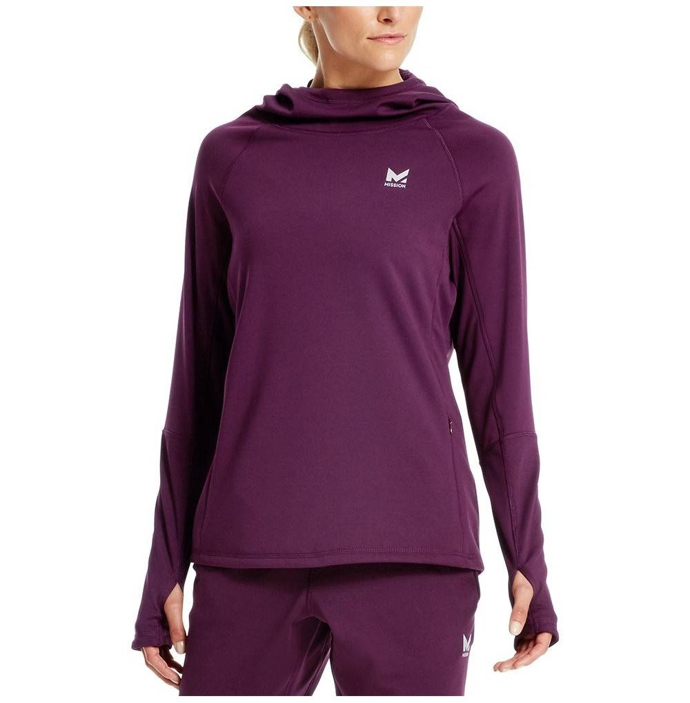 Mission Womens VaporActive Gravity Pullover