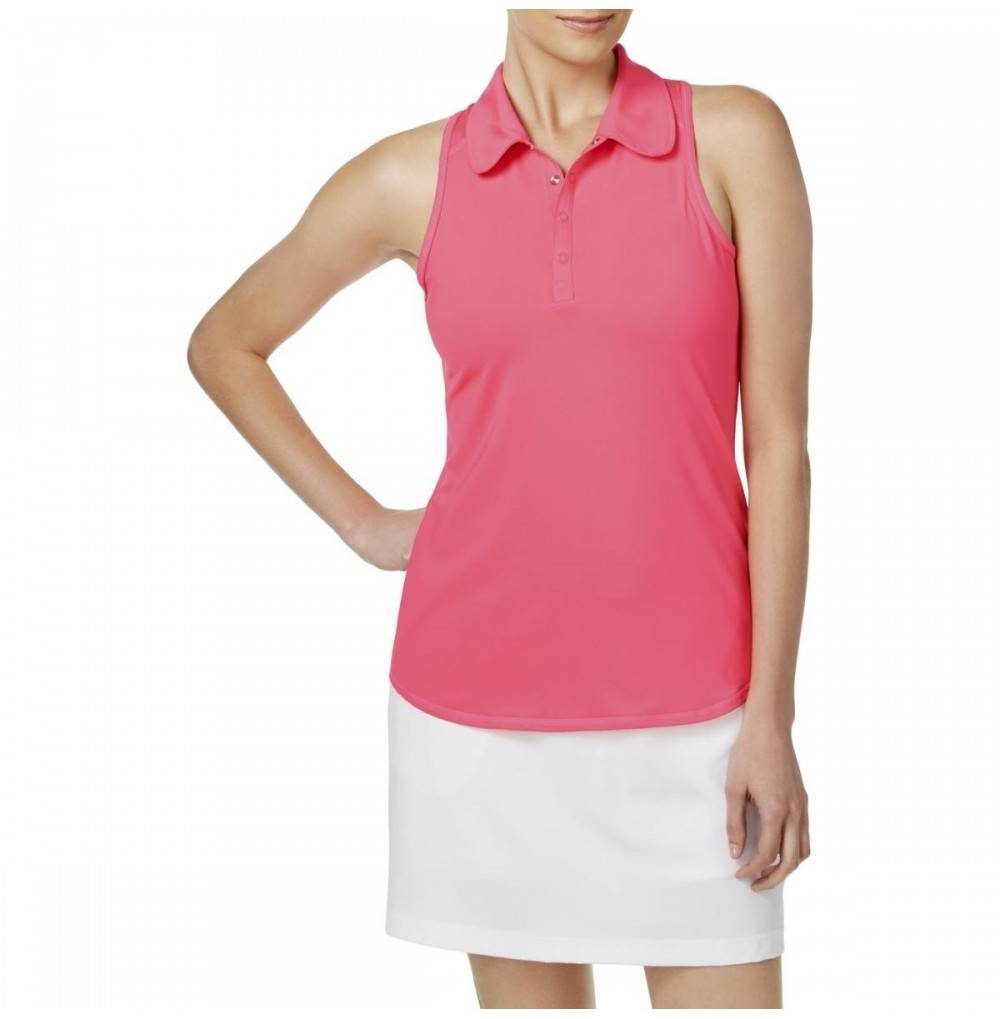 Ideology Womens Sleeveless Golf Polo