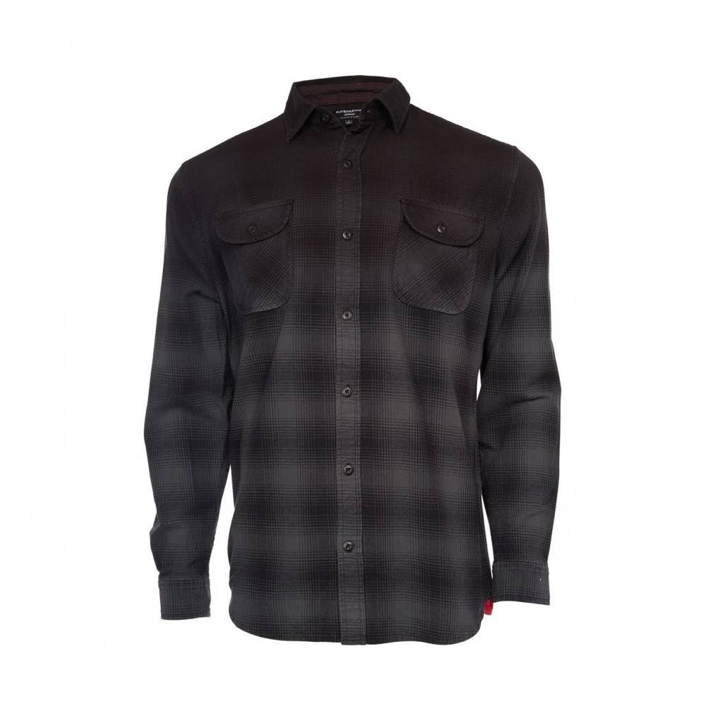 SUPERbrand Mens Sombrio Flannel Shirt