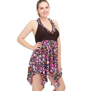 Two Piece Bathing Swimwear Swimsuits Swimdress