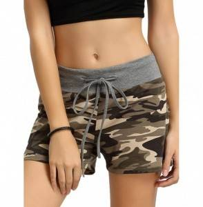 Verochic Womens Camouflage Workout Shorts