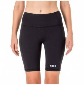 N1Fit Exercise Shorts Women See Through
