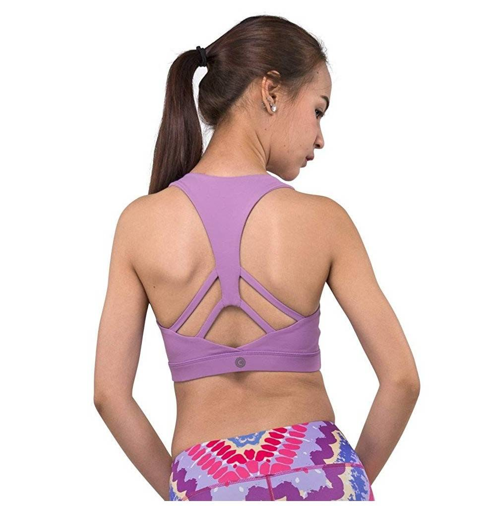 Racerback Pastel Yoga WireFree Removable