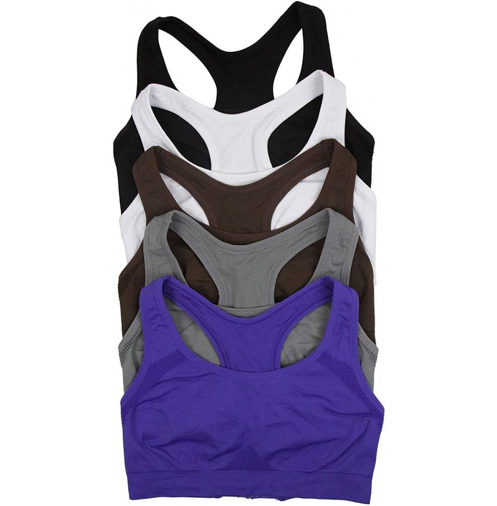 ToBeInStyle Womens Double Racerback Sports