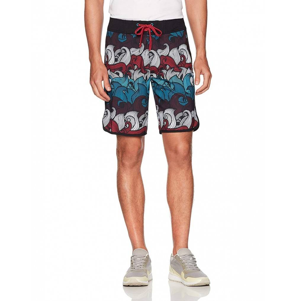 KAVU Athletic Shorts Waves Medium