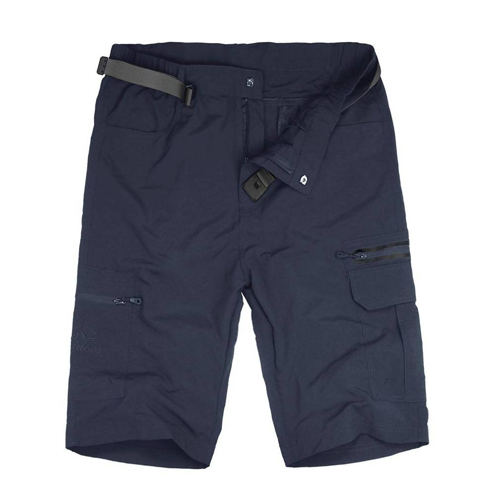 Kolongvangie Mens Quick Cargo Shorts