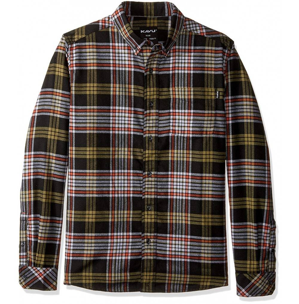 KAVU Mens Huck Button Shirt