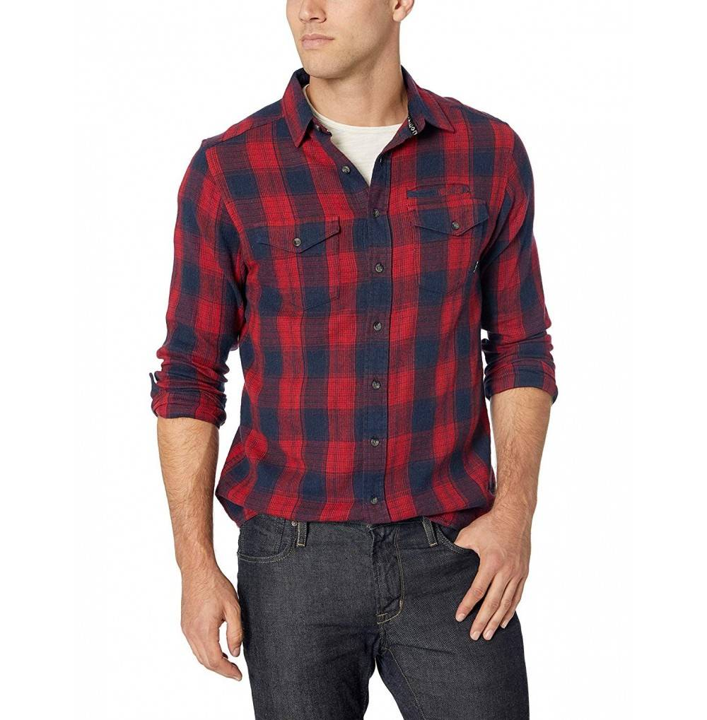 KAVU Mens Lorenzo Button Shirt