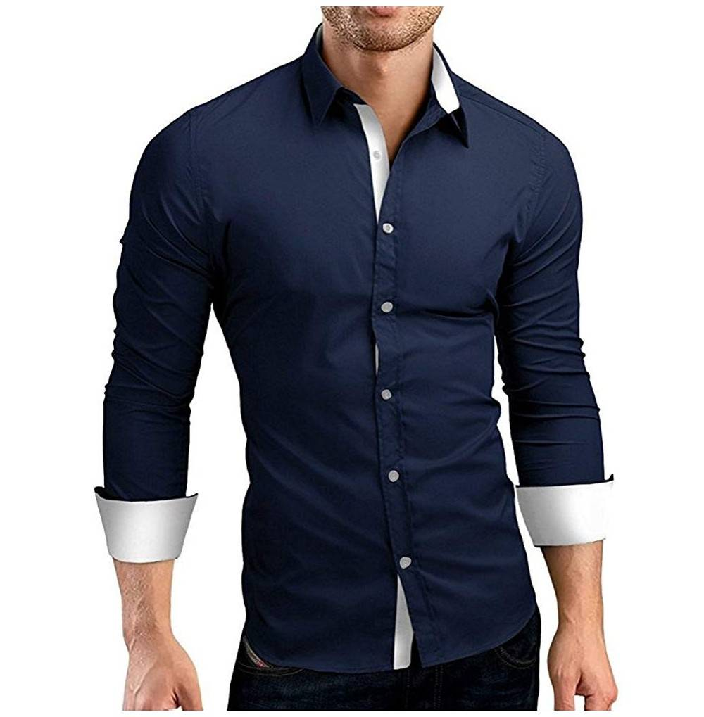 Musen Men Casual Shirts Regular