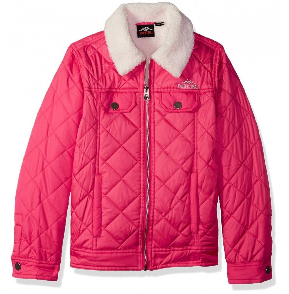 Pacific Trail Girls Quilted Jacket