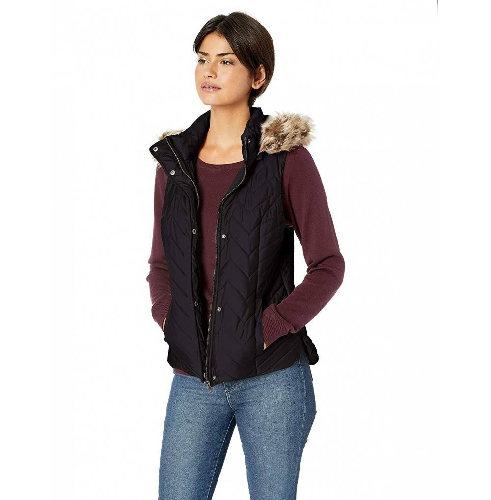 Sebby Collection Womens Quilted Insulated
