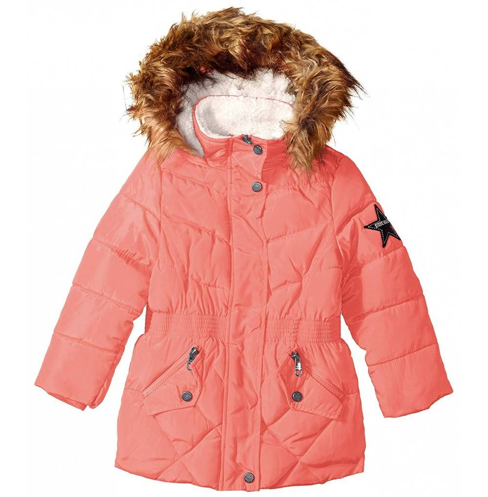Steve Madden Girls Bubble Jacket