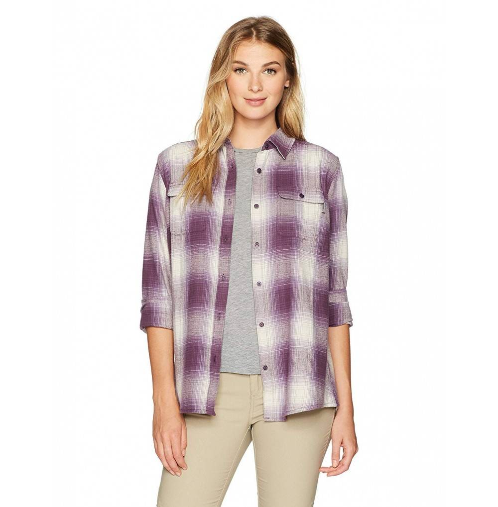 Wolverine Womens Two Sided Brushed Flannel