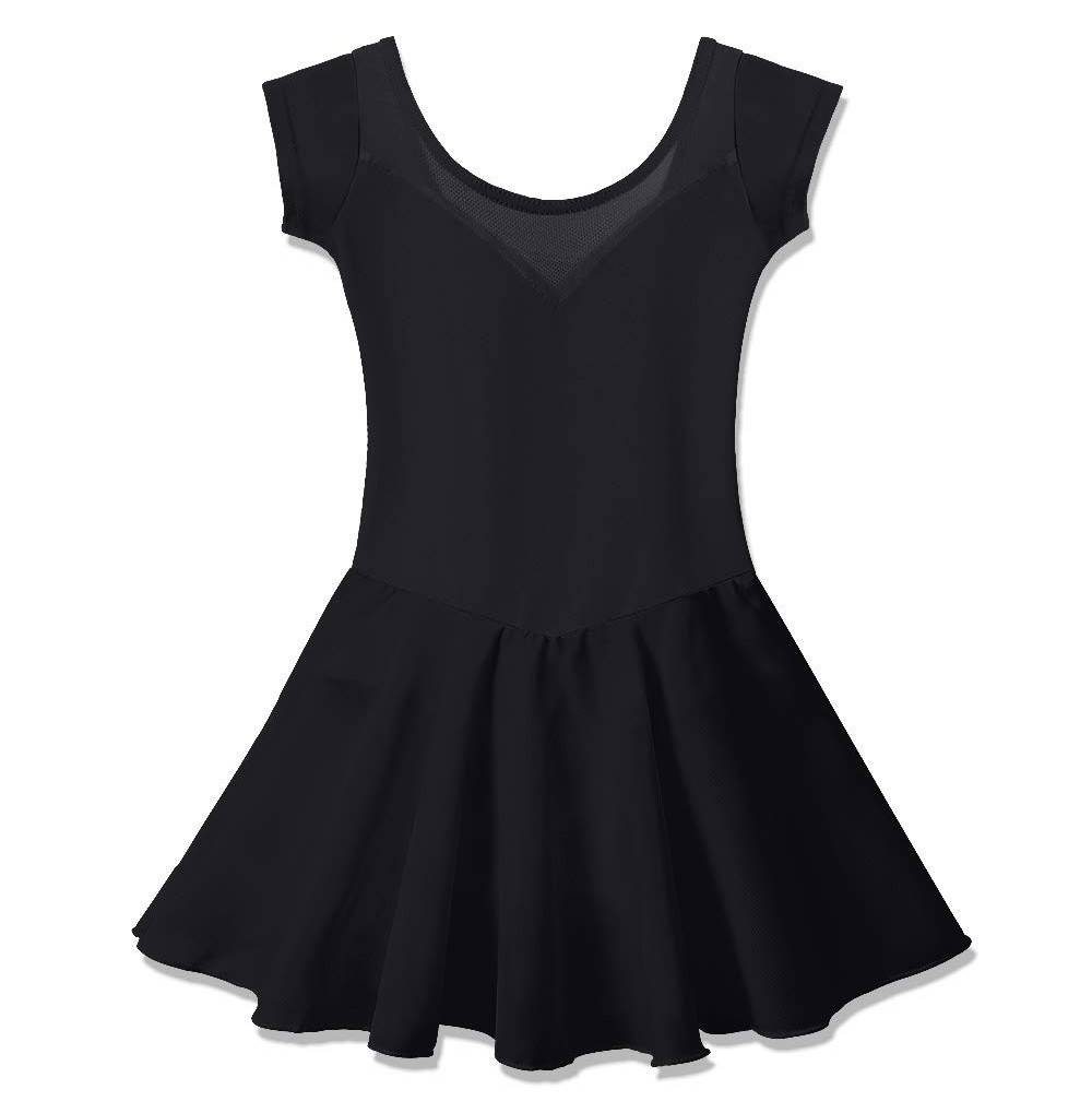 BAOHULU Skirted Leotards Sleeve Ballet