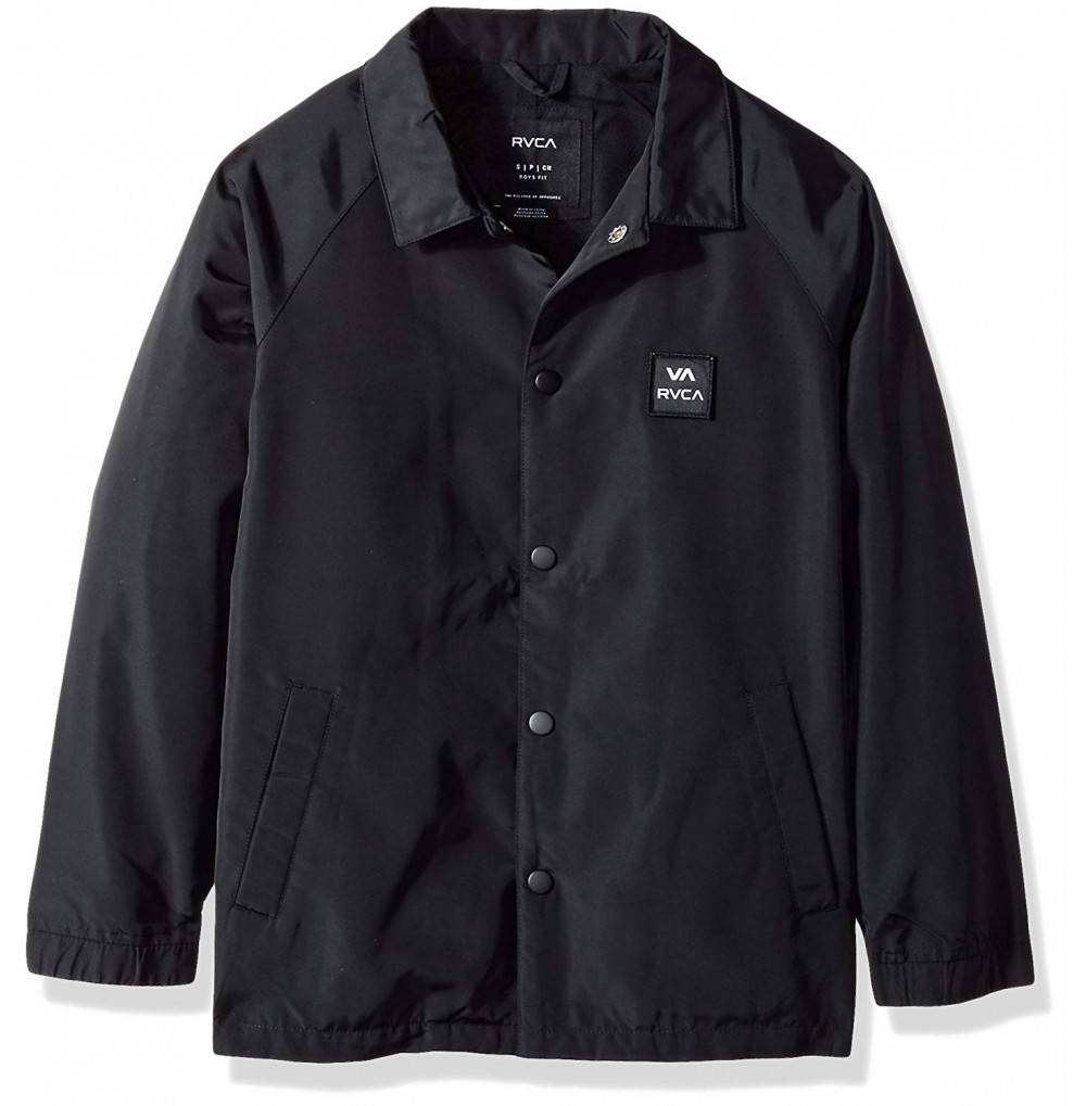 RVCA Boys Big Coaches Jacket