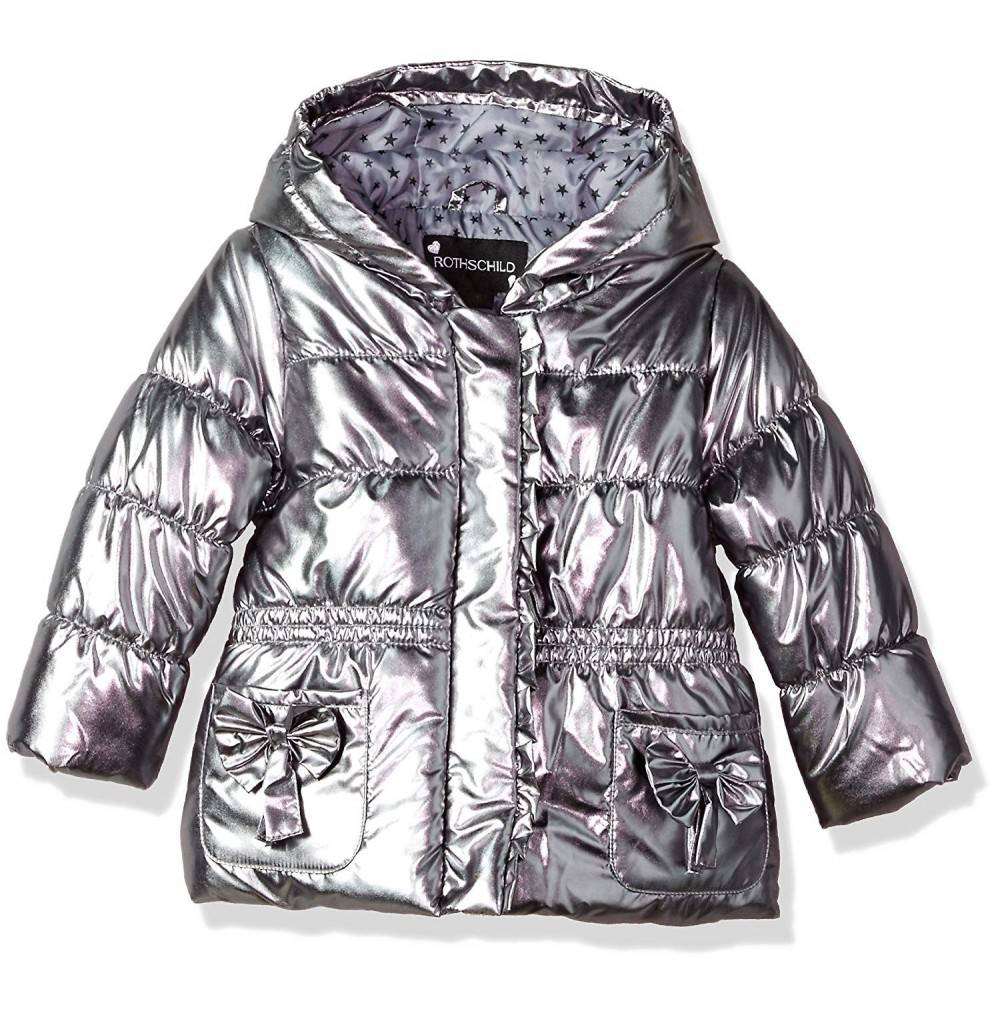 Rothschild Toddler Girls Metallic Jacket