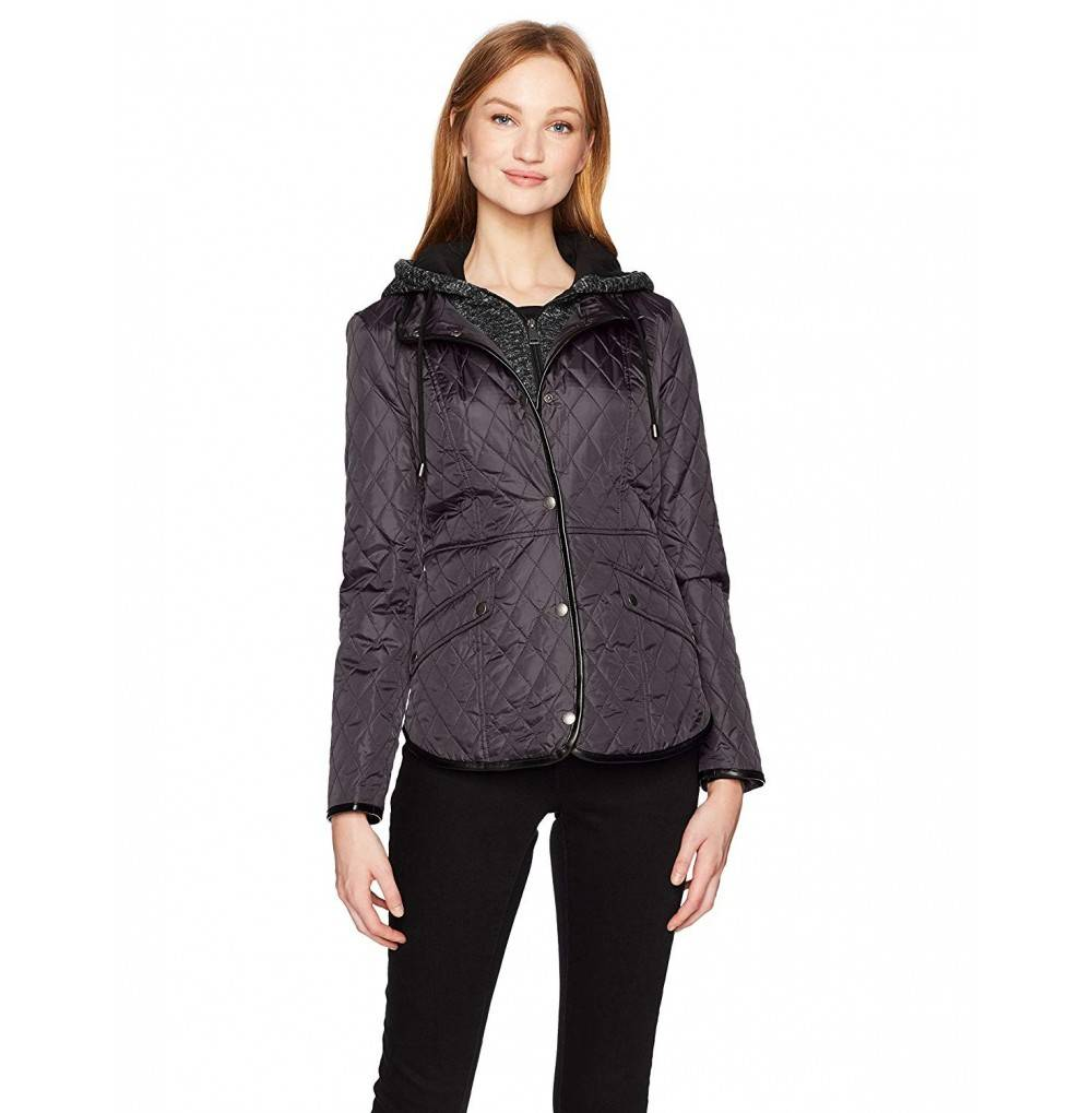 Sebby Womens Front Jacket Fleece