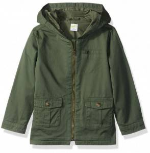 Crazy Toddler Fashion Millitary Jacket