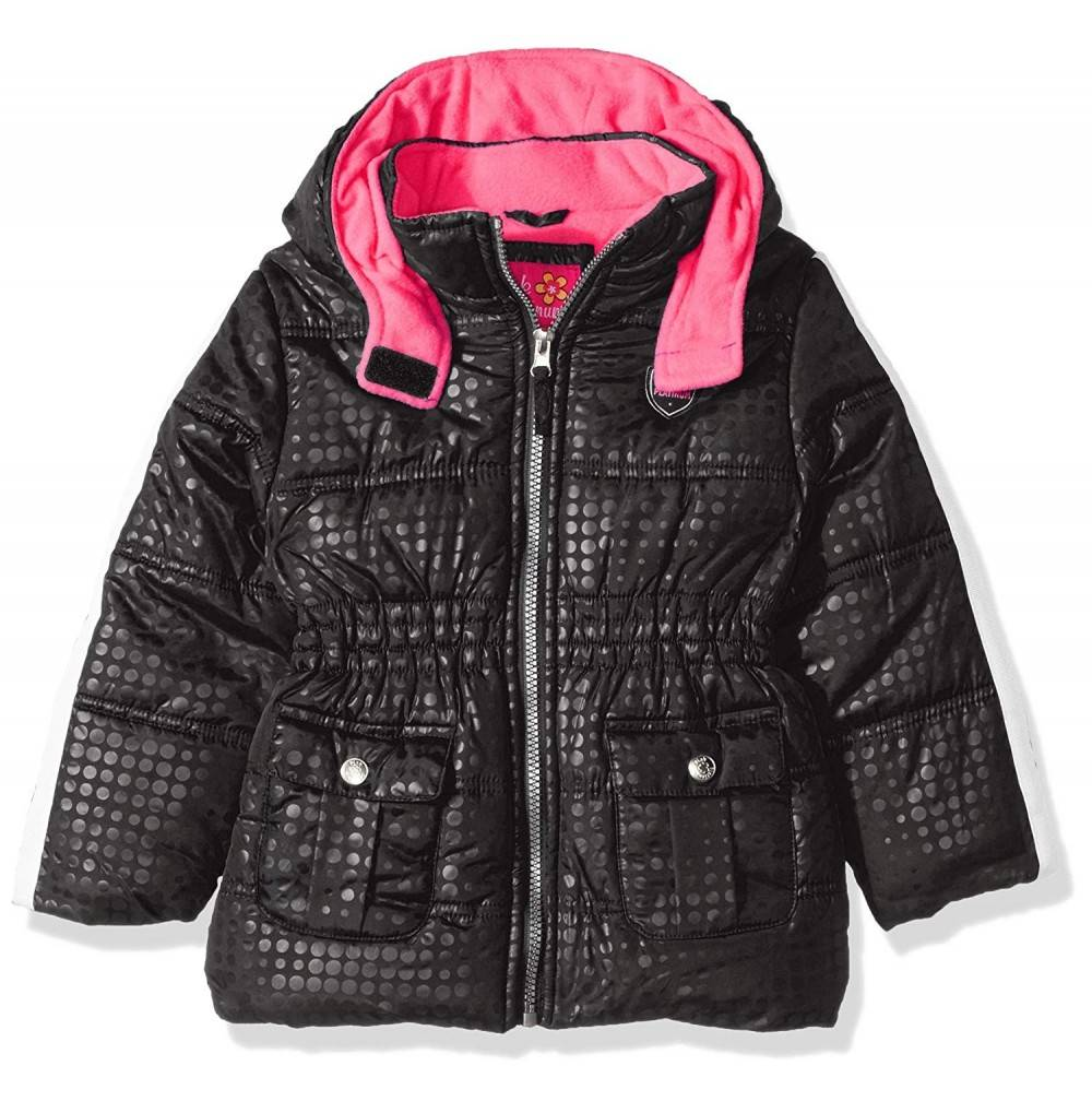 Pink Platinum Girls Active Puffer
