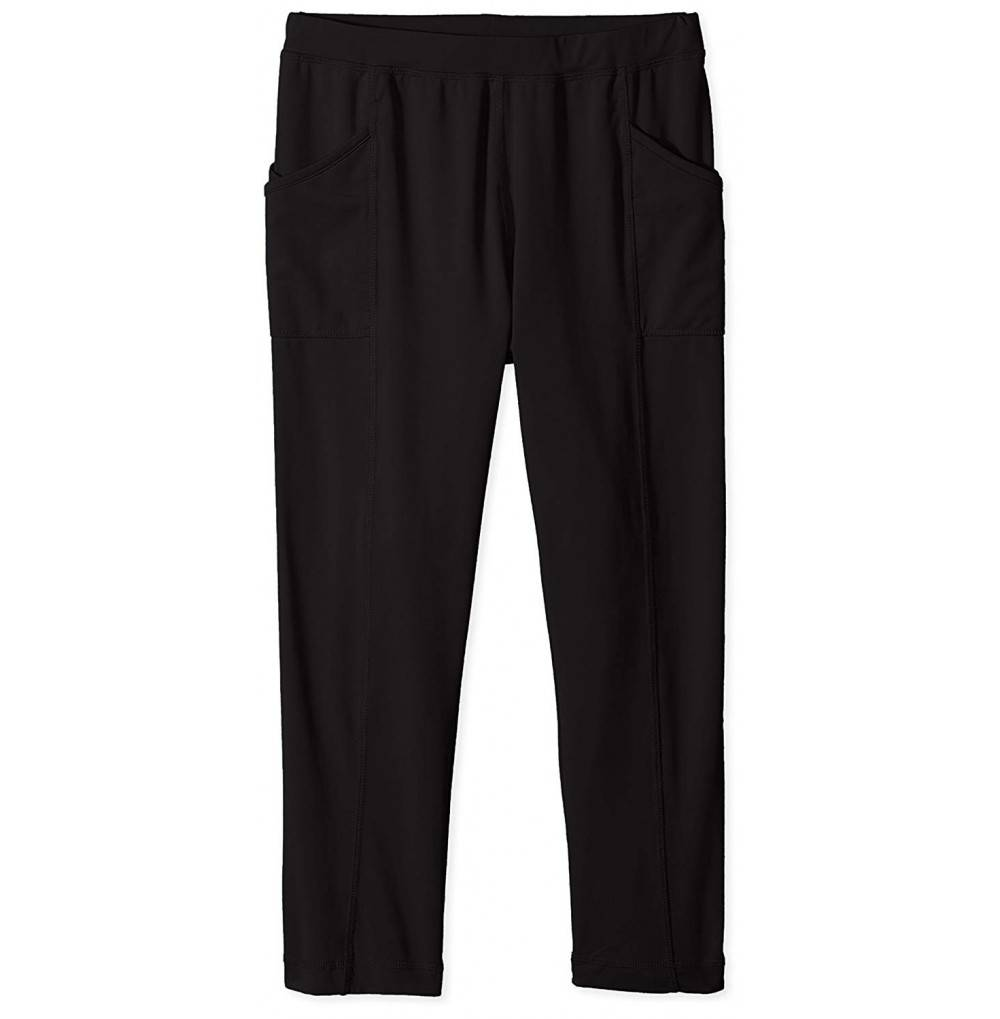 White Sierra Girls Leggings Black