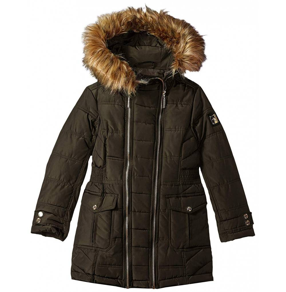 Rocawear Girls Hooded Bubble Jacket