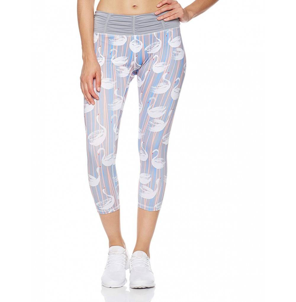 Mint Lilac Leggings Athletic Waistband