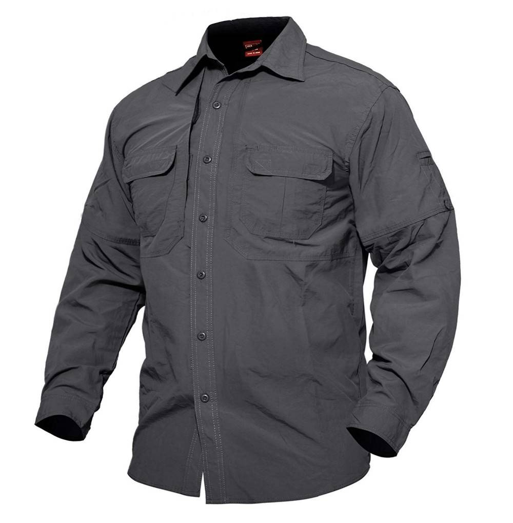 MAGCOMSEN Breathable Sleeve Anti Rip Military