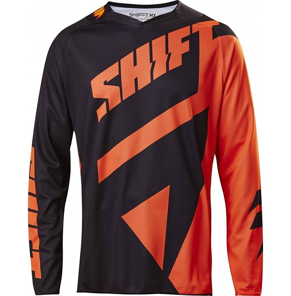 Shift Black Mainline Jersey Black Orange S