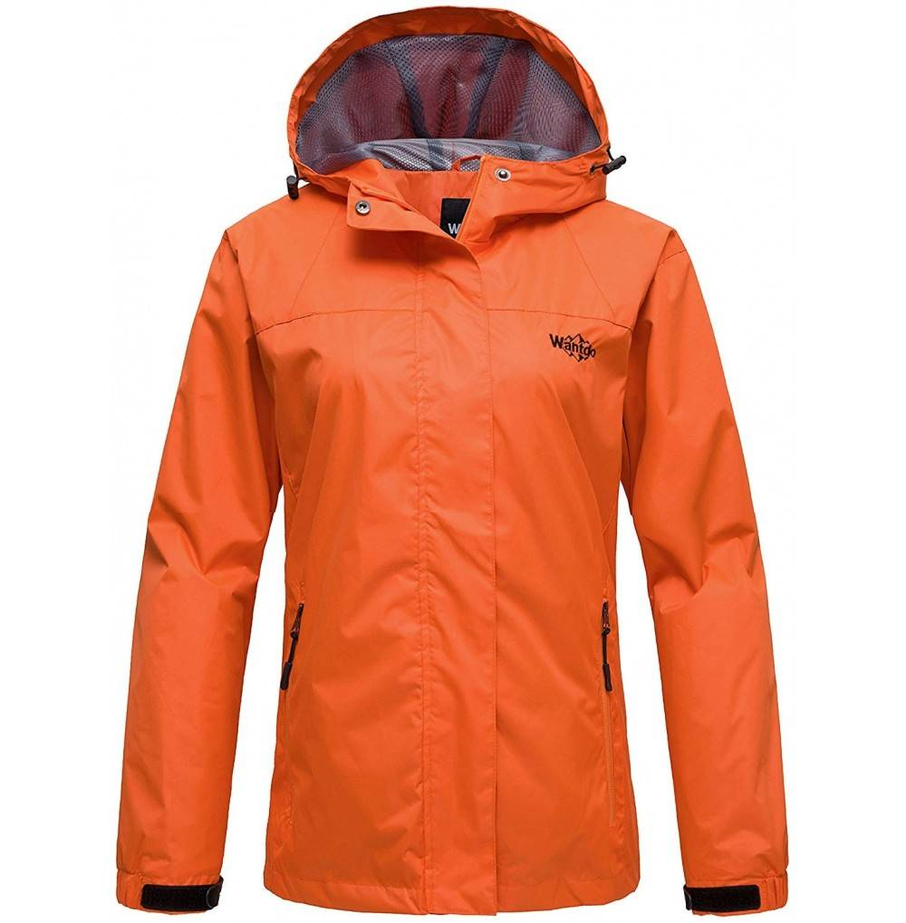 Wantdo Windproof Raincoats Waterproof Windbreaker