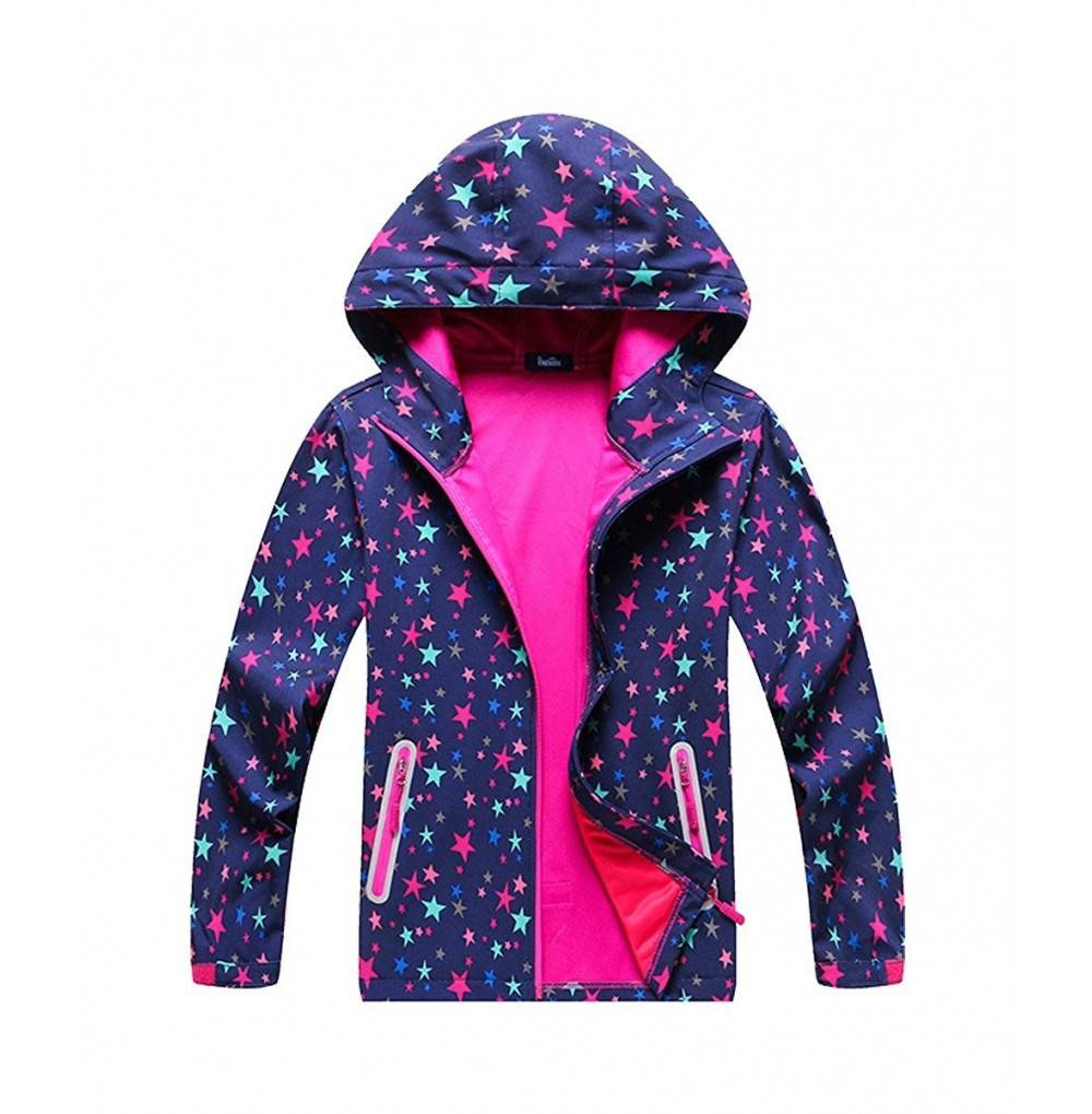 M2C Pattern Windproof Jackets Composite