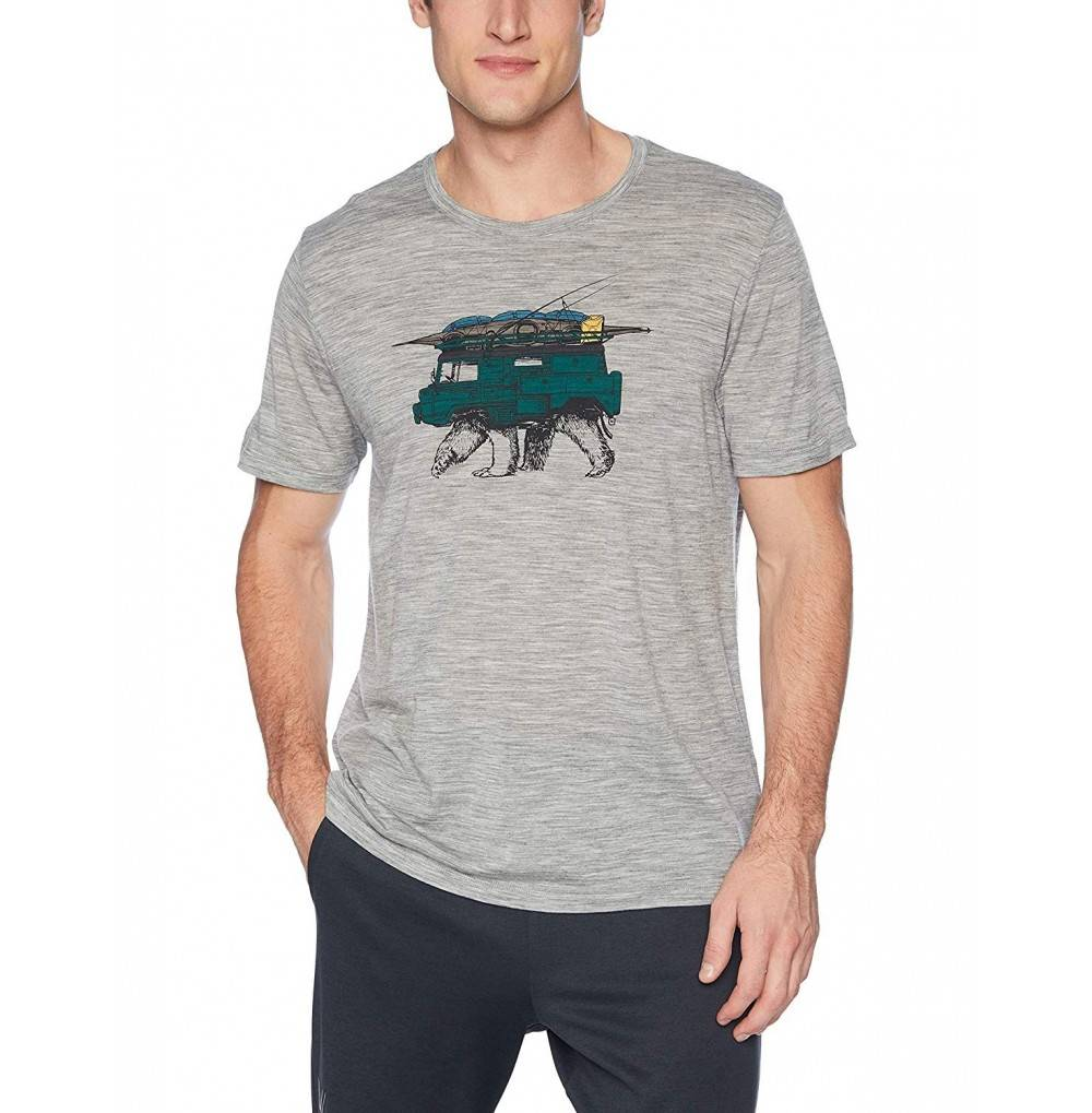 Icebreaker Merino Mens T Shirt Graphic