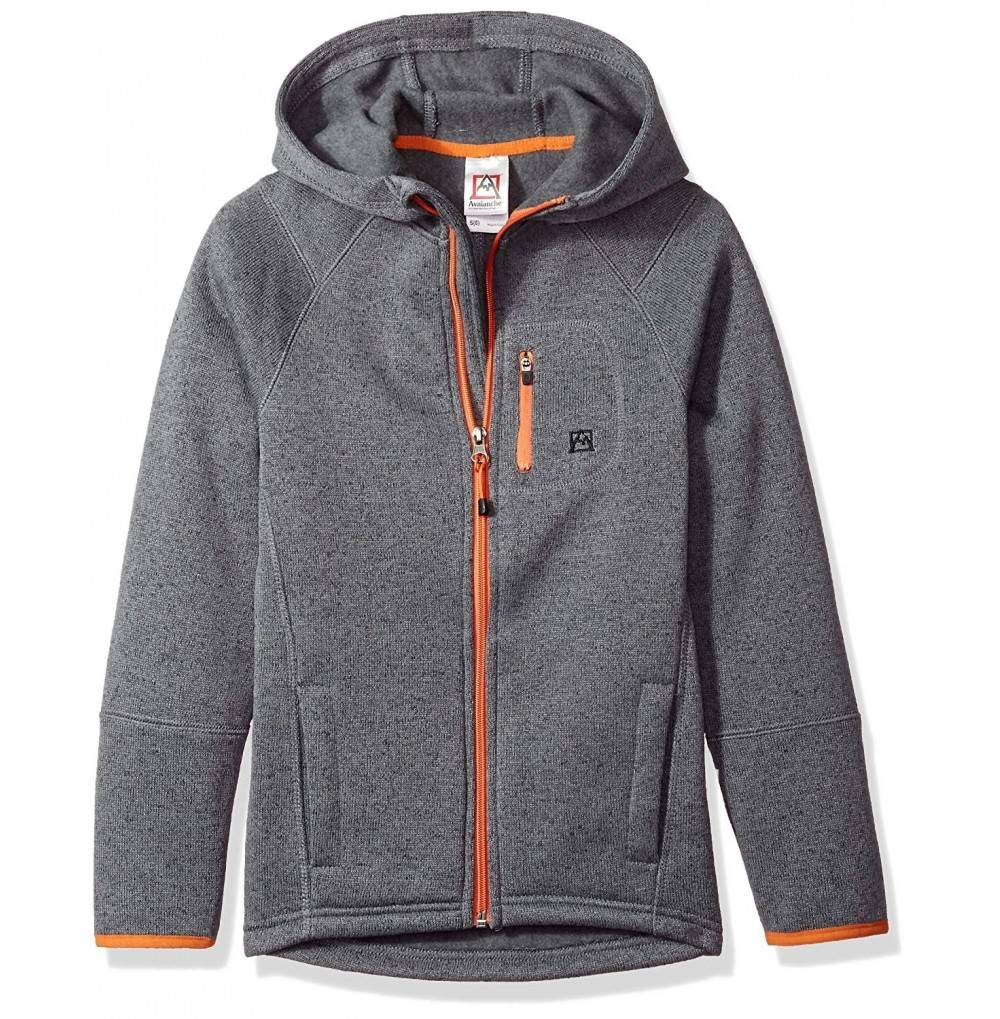 Avalanche Boys Hooded Full Jacket