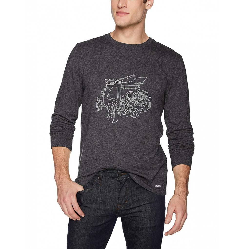 Life Good Crusher Longsleeve Off Road