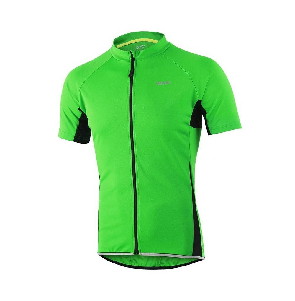 ARSUXEO Cycling Jersey Sleeves Bicycle